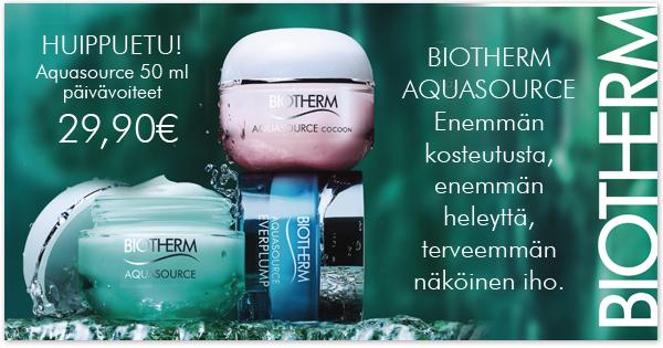 etusivu _biotherm_aquasource kampanja 2017