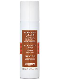 super soin solaire body oil SPF15