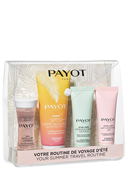 Payot your summer routine spf50